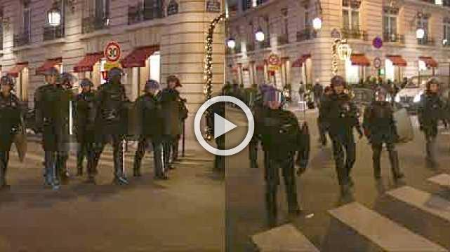 Protesters, police clash in Paris as blockades surge on