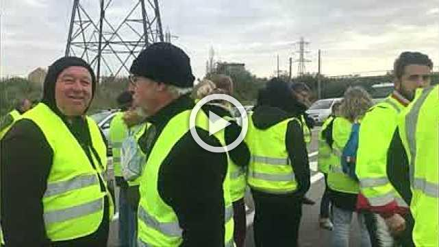Protesters in France block access to three fuel depots