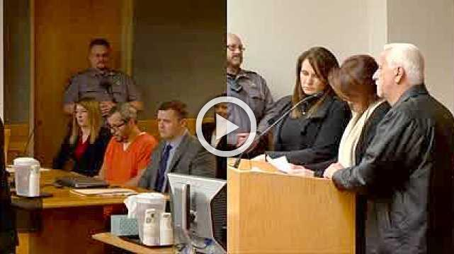 """""""No mercy"""": Man sentenced for killing wife, daughters"""