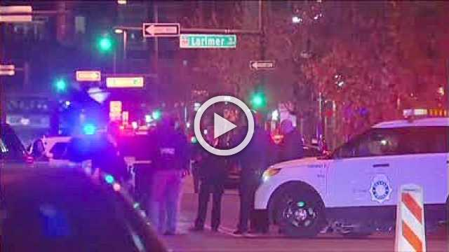 Five people shot, one fatally, in downtown Denver