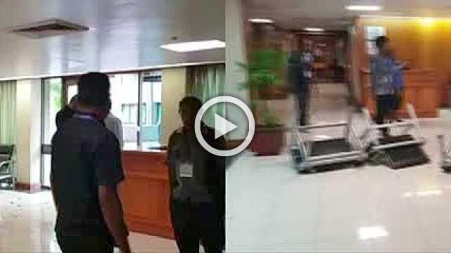 Security forces storm PNG parliament over unpaid wages after APEC summit