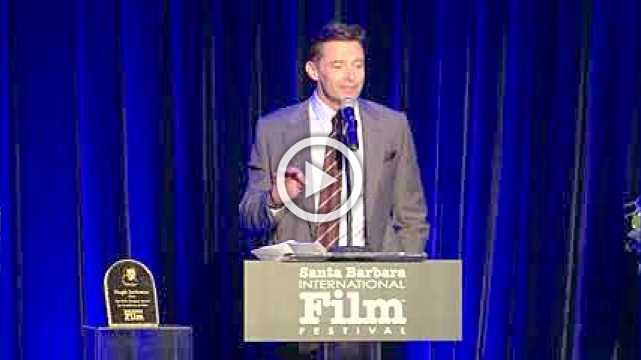 Hugh Jackman honored with Kirk Douglas Award in Santa Barbara