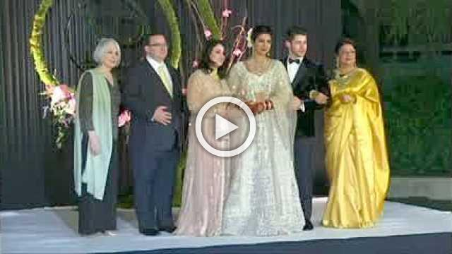 Priyanka Chopra, Nick Jonas celebrate wedding in New Delhi