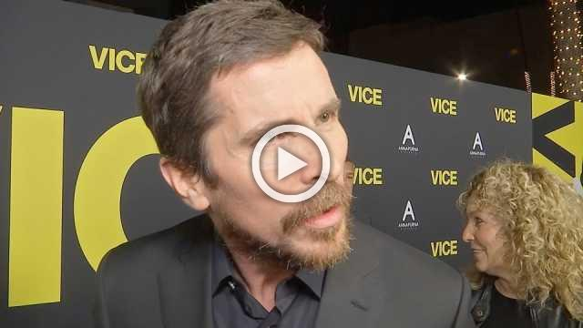 'I want to give him a hug' - Christian Bale at premiere on Cheney