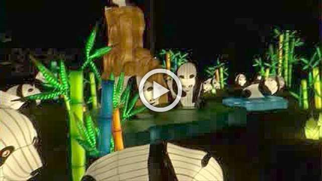 NYC Winter Lantern Festival lights up Staten Island