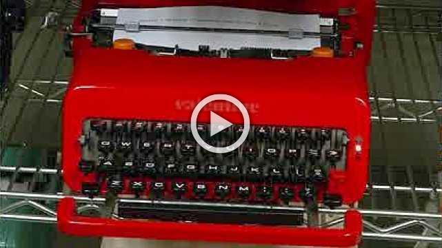 Old fashioned typewriters power a new generation