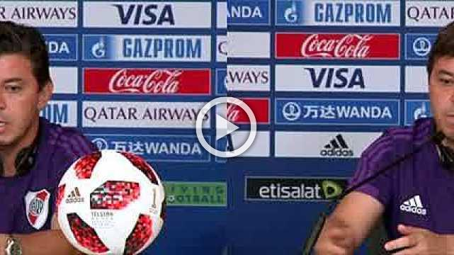 River Plate focused on 'dangerous' Al Ain, says coach Gallardo