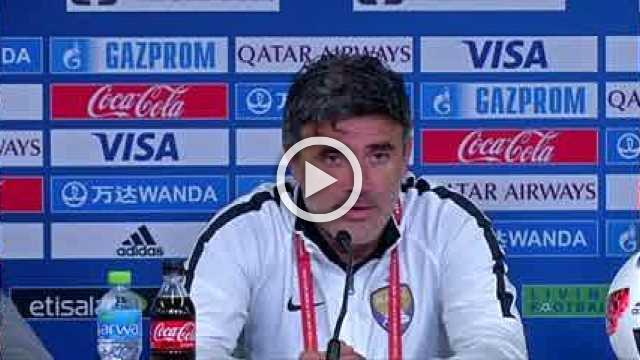 """Al Ain looking to """"write history"""" against River Plate, says coach"""