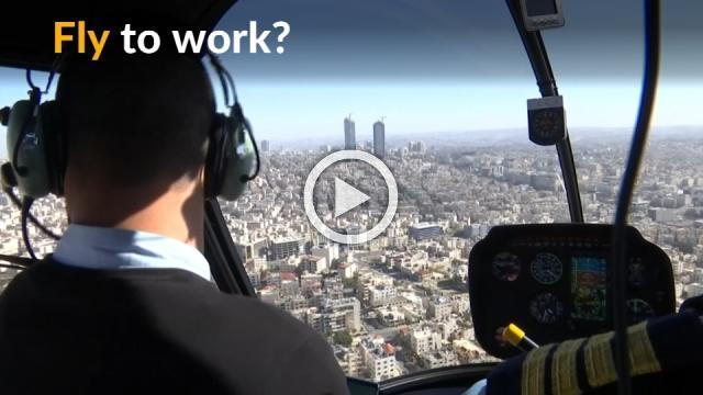Jordan launches alternative commute in the sky