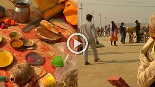 Indian town gears up for world's largest religious festival