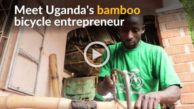 Ugandan entrepreneur brings sustainable bikes to cyclists
