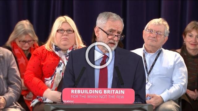 UK's Labour Party could back second Brexit referendum, hints Corbyn