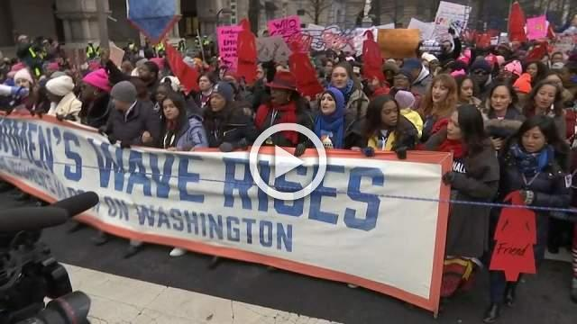 Women around the world march for social justice