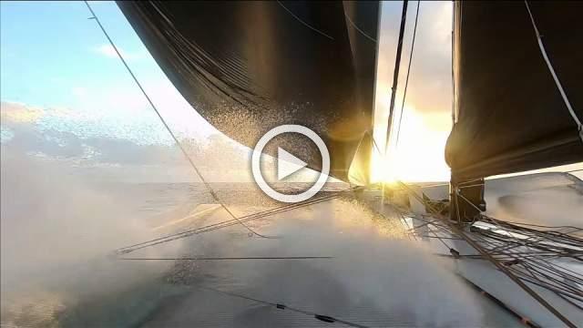 Jules Verne race yacht breaks equator record