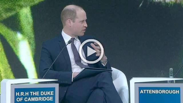 Prince William quizzes David Attenborough