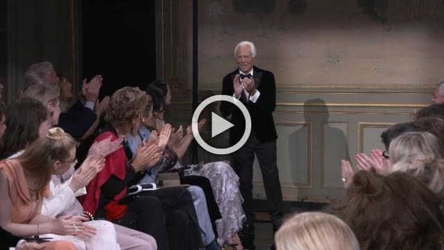 Armani's glittering Art Deco fashion draws stars in Paris
