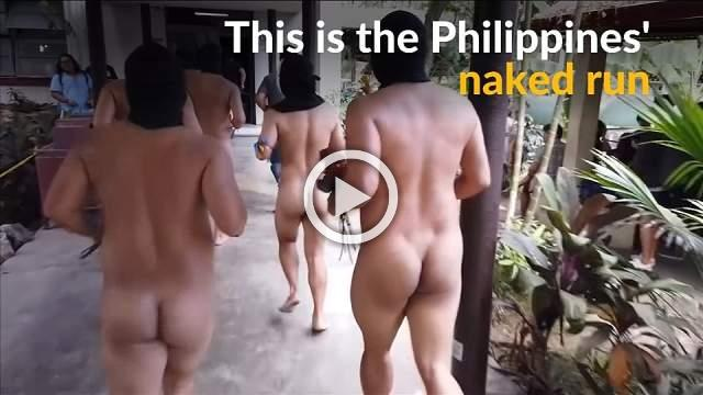 Philippine students bare all for freedom of expression