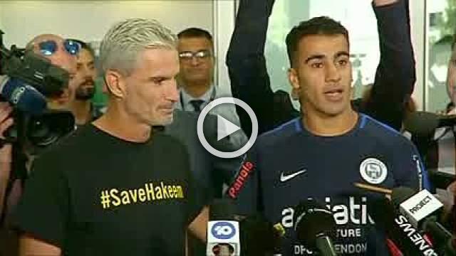 Freed Bahraini footballer lands in Australia
