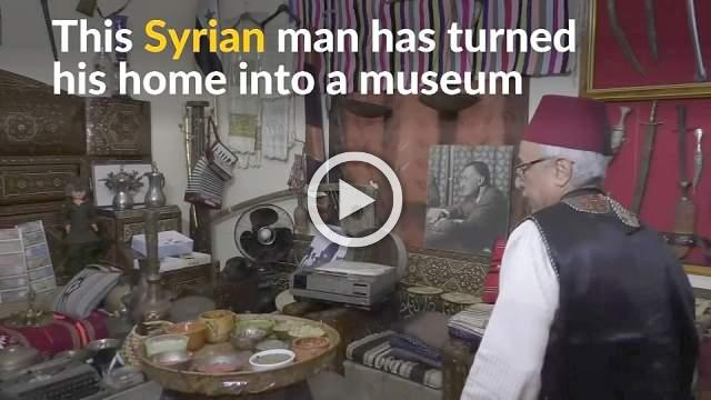 Antique collector preserves Syrian heritage and tradition