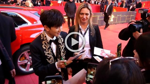 China's most popular boy band member wows fans at Berlinale