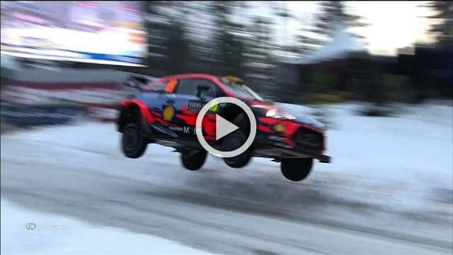 Suninen's mistake lets Ott Tanak take the lead in Rally