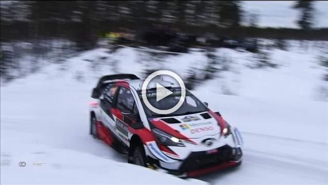 Tanak maintains Rally Sweden lead