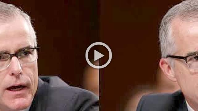 McCabe 'betrayed' the FBI: WH spokeswoman