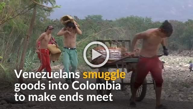 Venezuelans turn to smuggling across Colombia border to survive