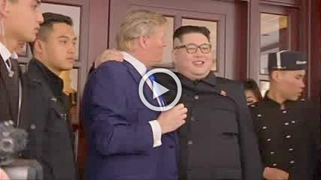 Trump 'is in my territory now' says Kim's impersonator ahead of Hanoi summit