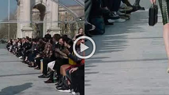 New Bottega Veneta designer Lee mixes modern and classic at Milan show