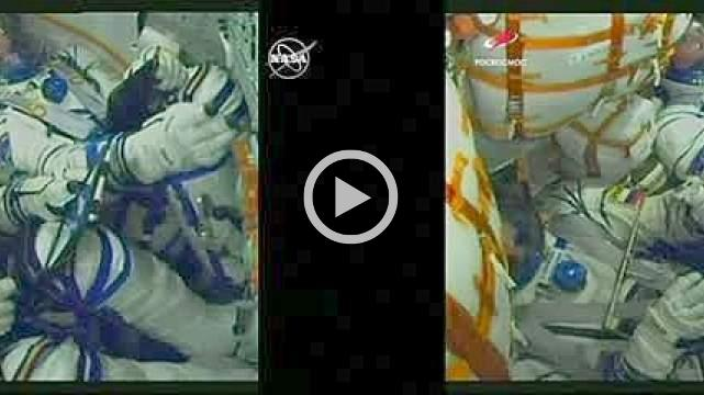 Redo launch with astronauts from Oct. failure