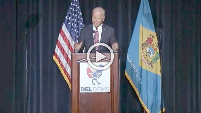 Biden's slip of the tongue hints at 2020