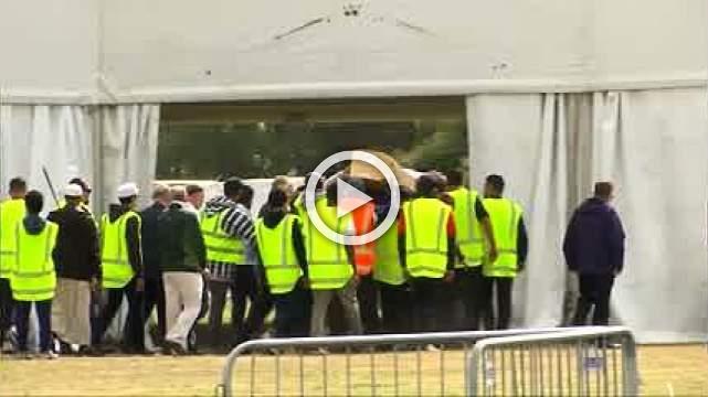 Burials begin for New Zealand shooting victims