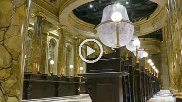 Gringotts Bank comes to life in Harry Potter studio tour