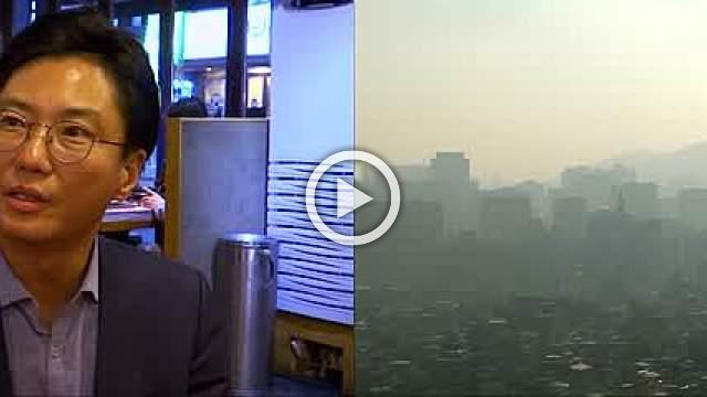 South Koreans fight smog their own way: with pork