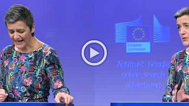 EU fines Google €1.49bln for blocking advertising rivals