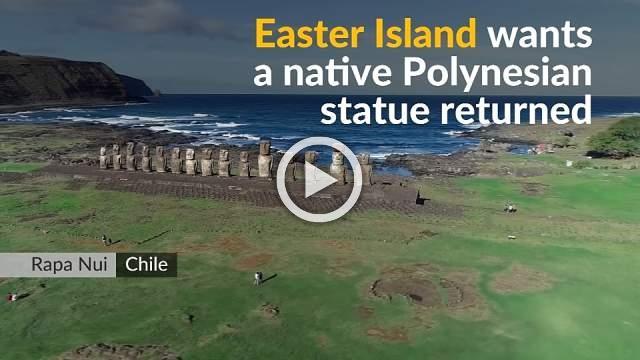Easter Islanders seek return of stolen