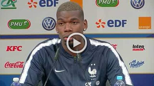 """Real Madrid """"a dream club for every player"""", says Manchester United's Pogba"""