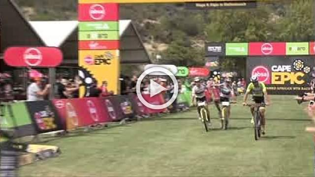 Schurter and Forster retake yellow jersey in Cape Epic mountain bike race