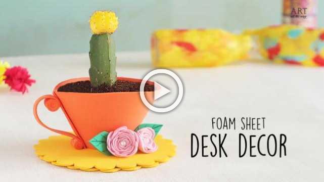 Foam Sheet desk Decor