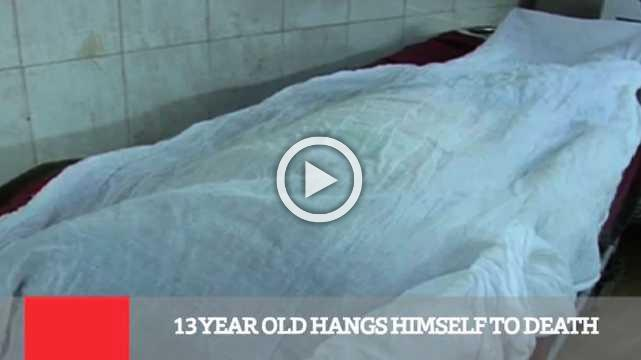 13 Year Old Hangs Himself To Death