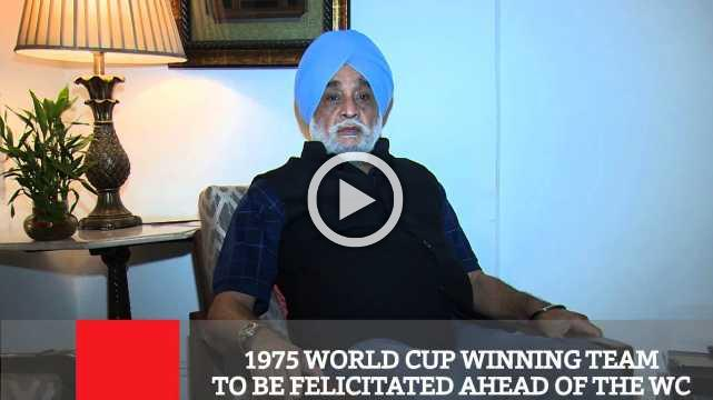 1975 World Cup Winning Team To Be Felicitated Ahead Of The Wc