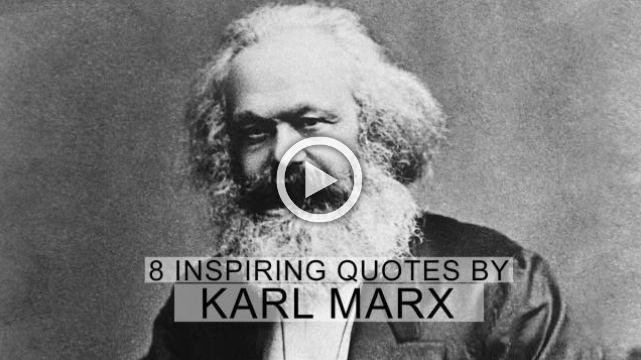 karl marx an inspiration