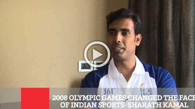 8 Olympic Games Changed The Face Of Indian Sports- Sharath Kamal