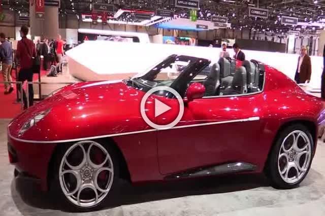 2018 Alfa Romeo Disco Volante Spyder Exterior and Interior Walkaround Part II