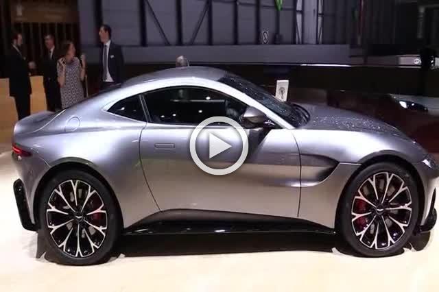 2018 Aston Martin Vantage Exterior and Interior Walkaround Part II