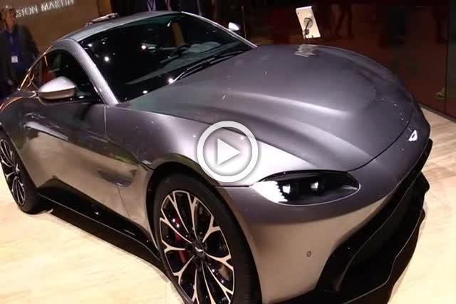 2018 Aston Martin Vantage Exterior and Interior Walkaround Part I