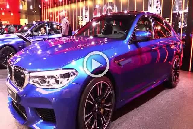 2018 BMW M5 Exterior and Interior Walkaround Part III