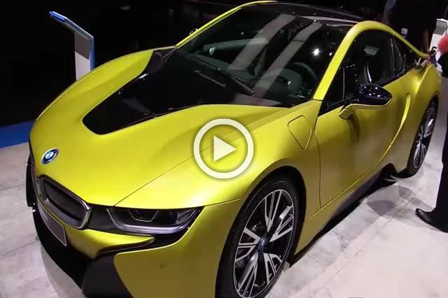 2018 Bmw I8 Frozen Yellow Exterior And Interior Walkaround Part Ii