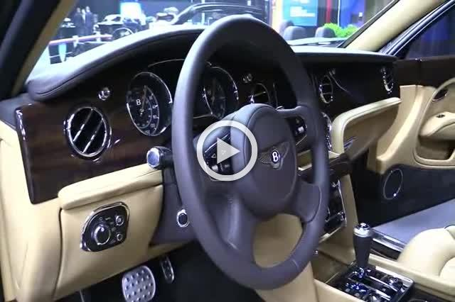 2018 Bentley Mulsanne Exterior and Interior Walkaround Part II